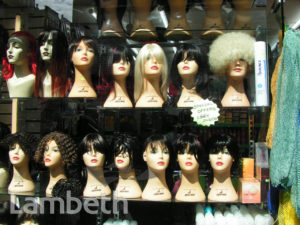 WIG SHOP, ATLANTIC ROAD, BRIXTON