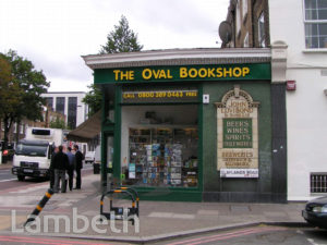 THE OVAL BOOKSHOP, CLAYLANDS ROAD, KENNINGTON