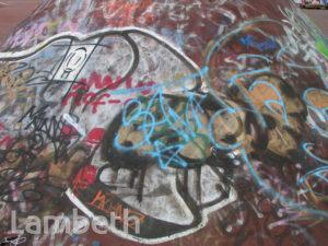 GRAFFITI, STOCKWELL PARK WALK, BRIXTON