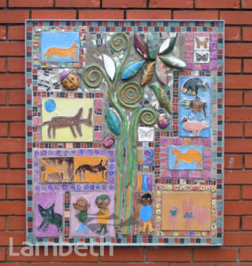 MOSAIC, LAMBETH HOSPITAL, LANDOR ROAD, STOCKWELL