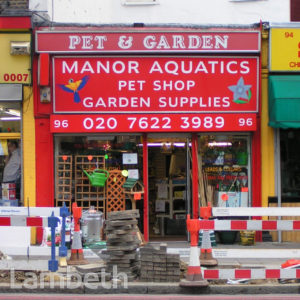 PET SHOP, CLAPHAM HIGH STREET, CLAPHAM