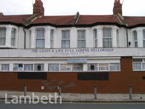 GOSPEL FELLOWSHIP, LANDOR ROAD, STOCKWELL