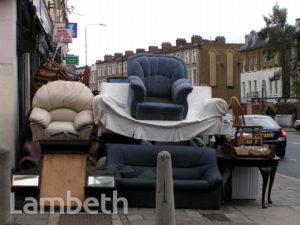 FURNITURE SHOP, COLDHARBOUR LANE, LOUGHBOROUGH JUNCTION