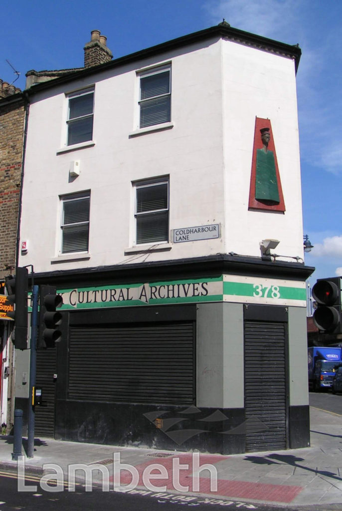 BLACK CULTURAL ARCHIVES, COLDHARBOUR LANE, BRIXTON