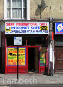 INTERNET CAFE, COLDHARBOUR LANE, BRIXTON