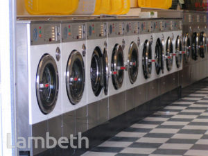LAUNDERETTE, CLAPHAM HIGH STREET