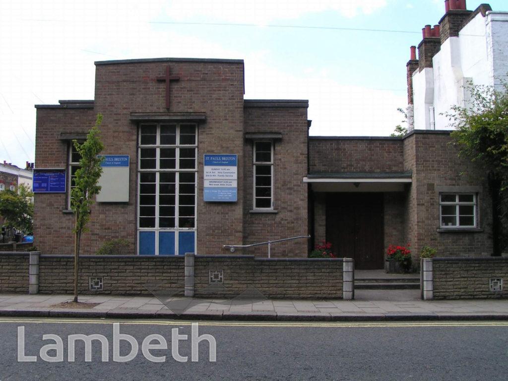ST PAUL'S CHURCH, FERNDALE ROAD, BRIXTON
