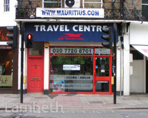 TRAVEL AGENTS, THE PAVEMENT, CLAPHAM