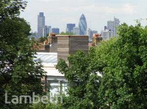 VIEW TO CITY, HUBERT GROVE, BRIXTON