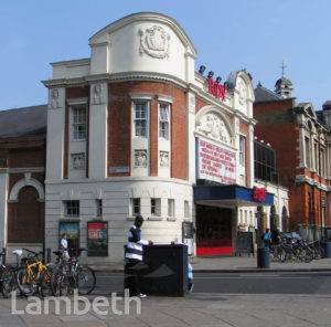 RITZY CINEMA, COLDHARBOUR LANE, BRIXTON