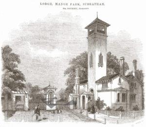 THE LODGE, MANOR PARK, STREATHAM