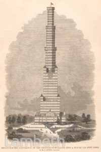 CRYSTAL PALACE GLASS TOWER PROPOSAL,