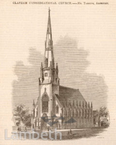 CONGREGATIONAL CHURCH, CLAPHAM
