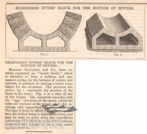 SEWERS FROM DOULTON & CO., LAMBETH