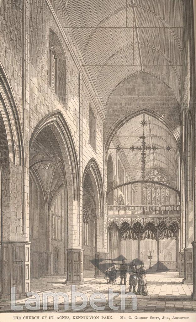 ST AGNES CHURCH, KENNINGTON PARK