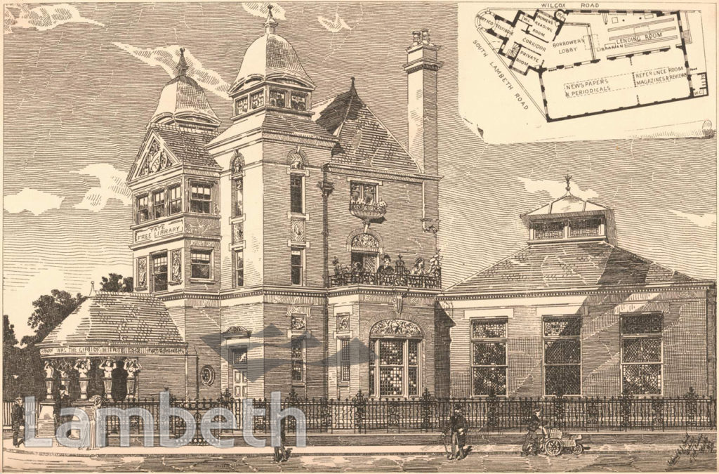 TATE LIBRARY, SOUTH LAMBETH ROAD