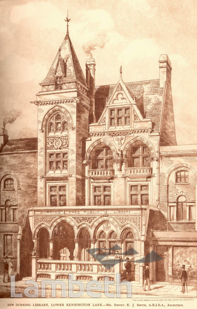 DURNING LIBRARY, KENNINGTON LANE, KENNINGTON