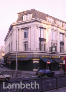 JAMES WALKER JEWELLERS, BRIXTON ROAD, BRIXTON