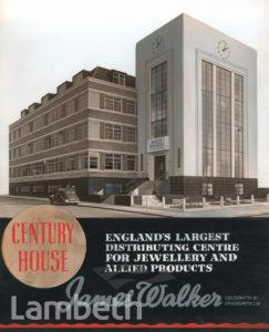 JAMES WALKER LTD, CENTURY HOUSE, STREATHAM HIGH ROAD