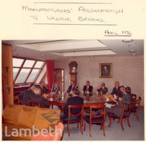 JAMES WALKER BOARDROOM, CENTURY HOUSE, STREATHAM