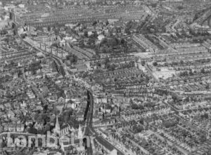 AERIAL VIEW OF STREATHAM LOOKING NORTH
