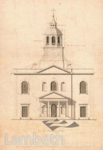 HOLY TRINITY CHURCH, CLAPHAM COMMON