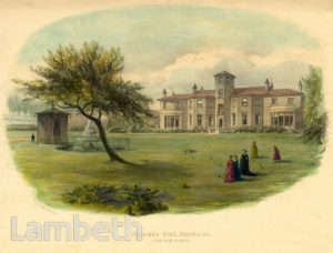 HOLDERNESS HOUSE, KNIGHT'S HILL, WEST NORWOOD