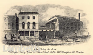 JOHN OAKEY AND SONS, BLACKFRIARS ROAD
