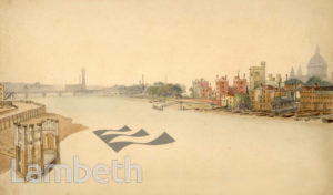LAMBETH PALACE AND WATERFRONT