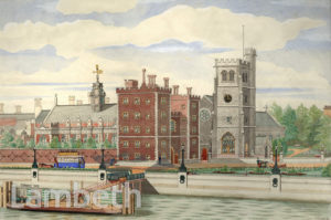 LAMBETH PALACE AND ST MARY'S, LAMBETH
