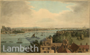 VIEW OF LONDON FROM LAMBETH