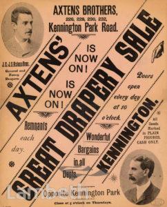 AXTENS BROTHERS, KENNINGTON PARK ROAD, KENNINGTON