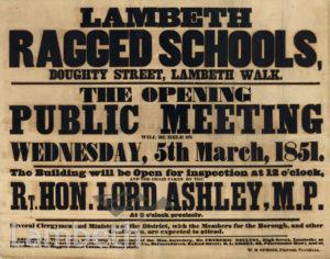 LAMBETH RAGGED SCHOOLS, DOUGHTY STREET, LAMBETH