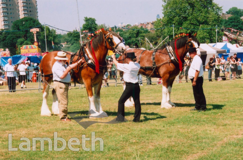 LAMBETH COUNTRY SHOW, BROCKWELL PARK, HERNE HILL
