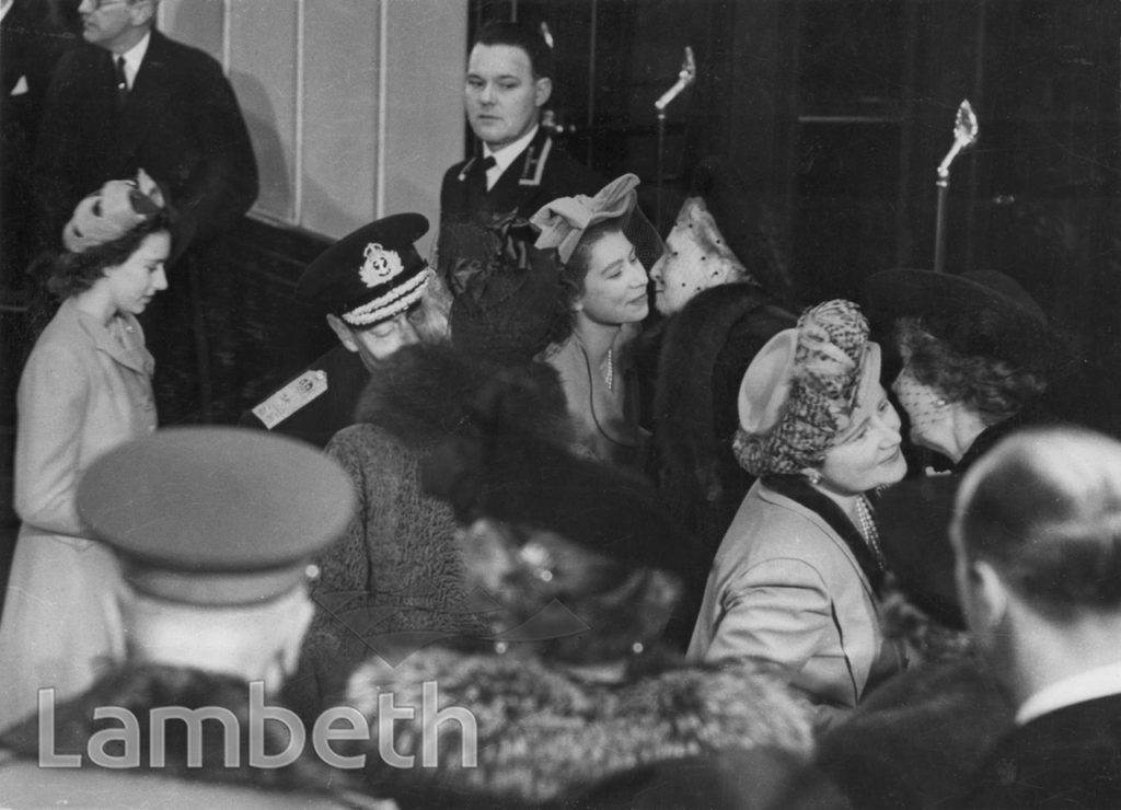 KING GEORGE VI AND FAMILY, WATERLOO STATION