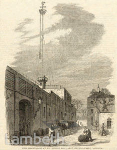 HODGES' DISTILLERY, CHURCH STREET, LAMBETH