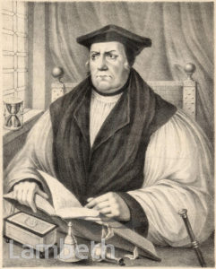 MATTHEW PARKER, ARCHBISHOP OF CANTERBURY