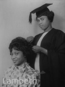 HAIRDRESSING STUDENT, LAMBETH