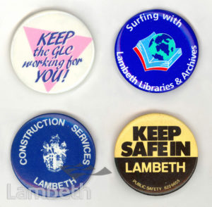 LAMBETH COUNCIL BADGES