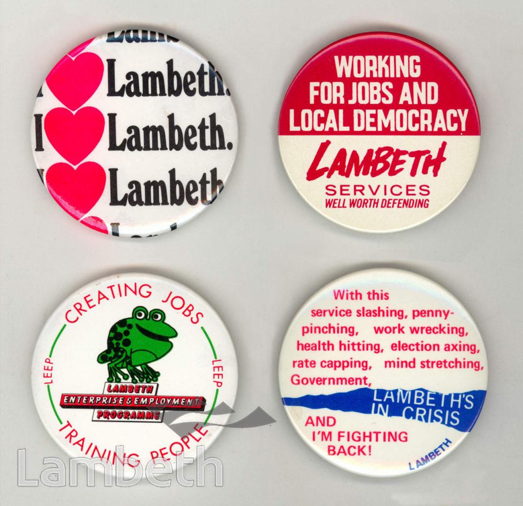 LAMBETH COUNCIL BADGES