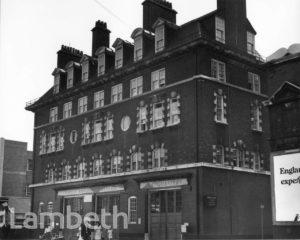 LONDON AMBULANCE SERVICE HEADQUARTERS, WATERLOO ROAD