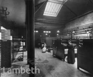 LAMBETH BATHS AND WASHHOUSES, KENNINGTON ROAD, LAMBETH