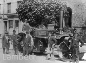 STEAM ROLLER, GIPSY HILL, NORWOOD