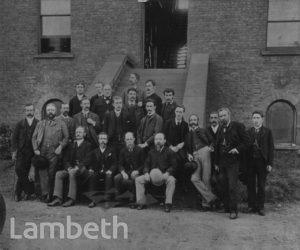 LAMBETH WATER WORKS STAFF, BRIXTON HILL