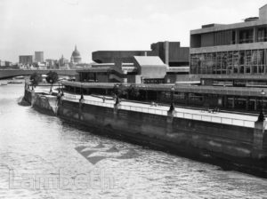 ROYAL FESTIVAL HALL AND QUEEN ELIZABETH HALL, SOUTH BANK