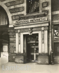 NATIONAL PROVINCIAL BANK, WATERLOO STATION