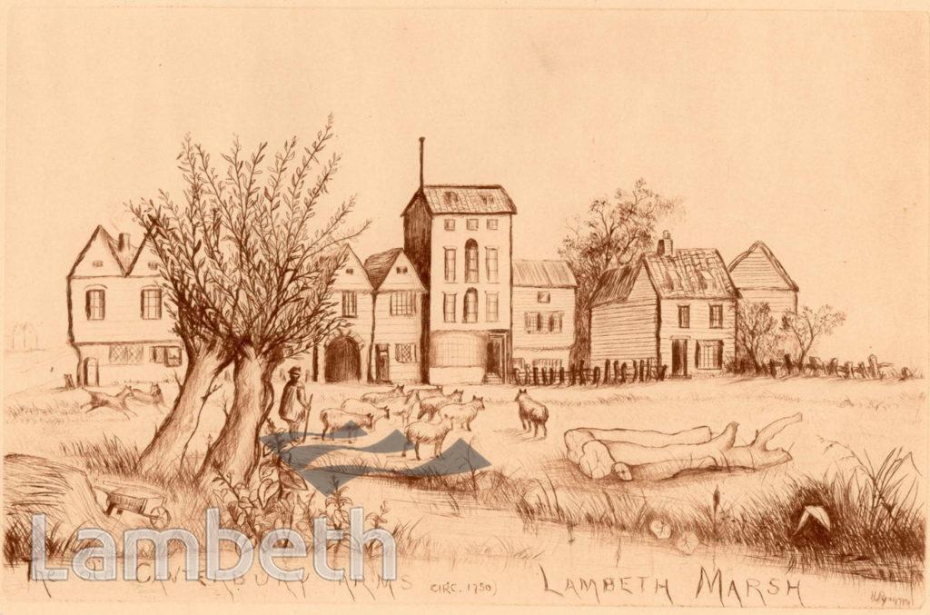 CANTERBURY ARMS, LAMBETH MARSH