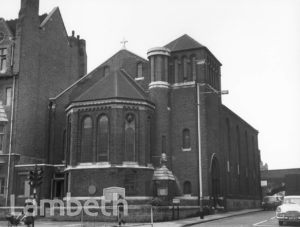 ST ANNE'S CHURCH, SOUTH LAMBETH ROAD, VAUXHALL