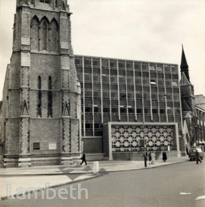 CHRIST CHURCH AND UPTON CHAPEL, KENNINGTON ROAD, LAMBETH
