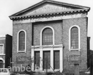 CONGREGATIONAL CHAPEL, CLAYLANDS ROAD, KENNINGTON